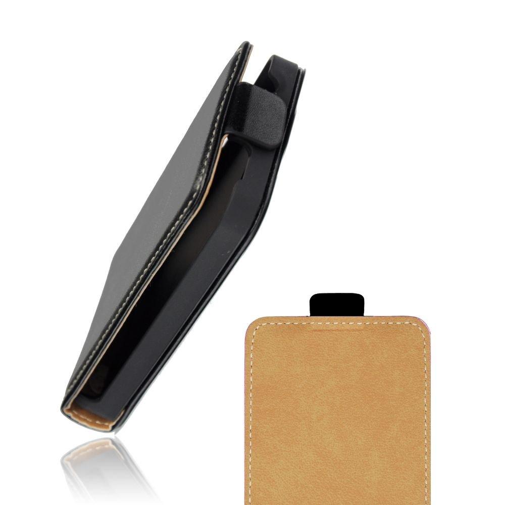Pouzdro na mobil Samsung Galaxy Ace 4 G357 kožený flip magnetický