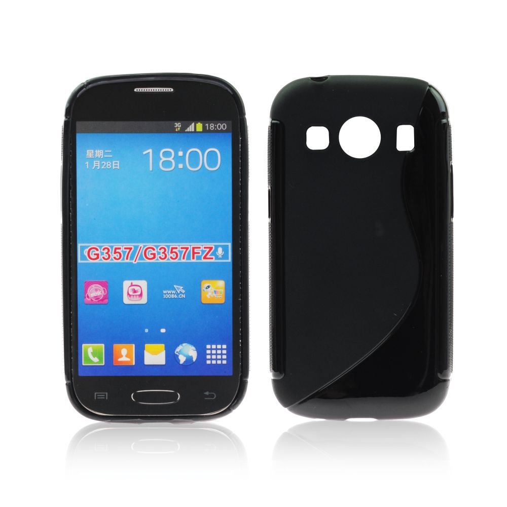 Silikonové Pouzdro S Case na mobil Samsung Galaxy Ace 3