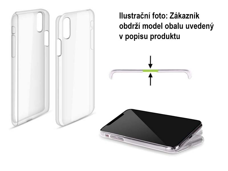 Pouzdro na mobil Apple Iphone 5/5S - HEAD CASE - čistý plast