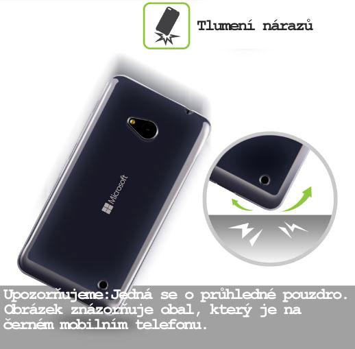 Silikonový obal na mobil Nokia Asha 503 HEAD CASE čirý