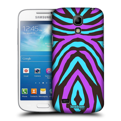 HEAD CASE pouzdro na mobil Samsung galaxy S4 mini zběsilé pruhy