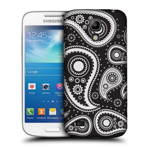 HEAD CASE pouzdro na mobil Samsung galaxy S4 mini černé a bílé slzy