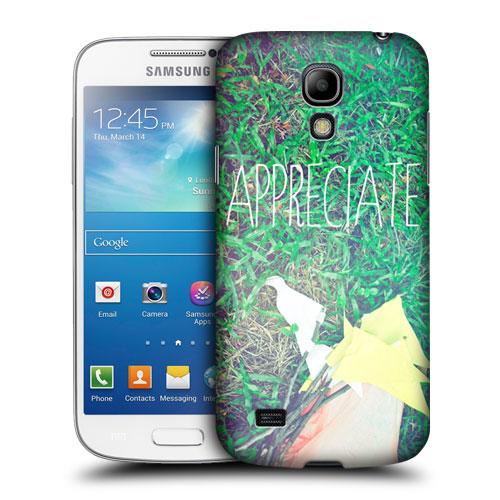 HEAD CASE pouzdro na mobil Samsung galaxy S4 mini zelená trává