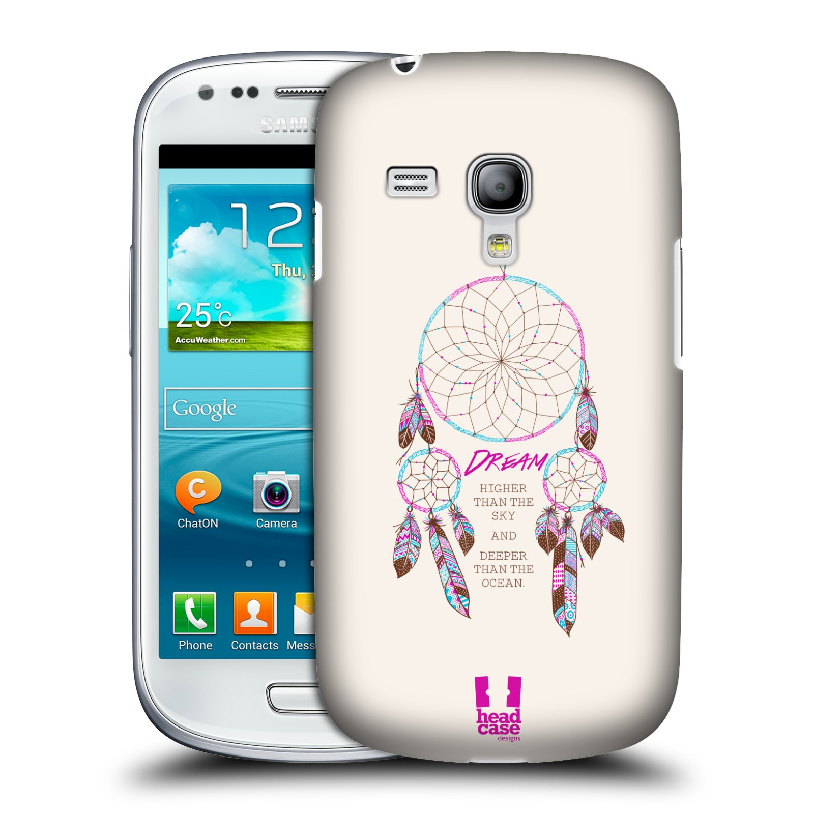 HEAD CASE pouzdro na mobil Samsung galaxy S3 mini lapač snů Dream Higher