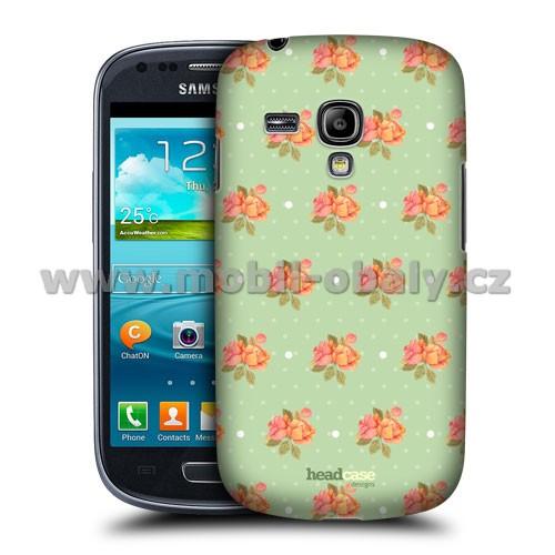 HEAD CASE pouzdro na mobil Samsung galaxy S3 mini květinový vzor jarní květiny