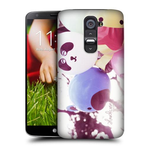 HEAD CASE pouzdro na mobil LG G2 vzor barevné balónky zvířátka