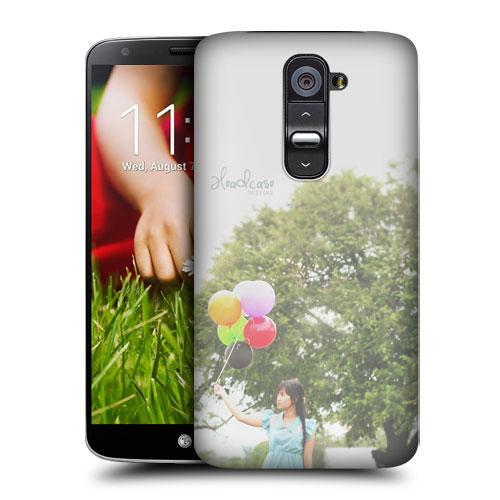 HEAD CASE pouzdro na mobil LG G2 vzor barevné balónky příroda