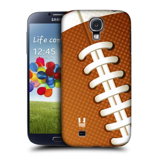 HEAD CASE pouzdro na mobil Samsung galaxy S4 sport americký fotbal