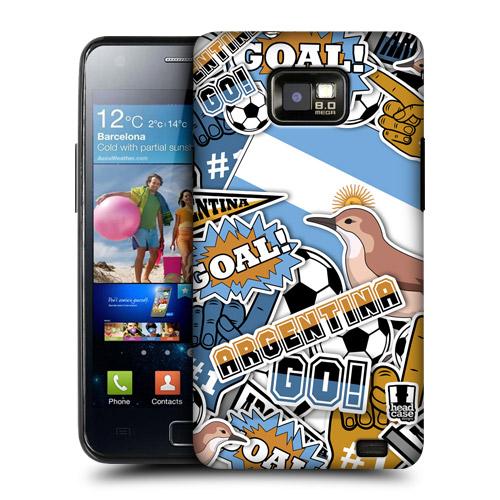 HEAD CASE obal na mobil Samsung Galaxy i9100 S2 mistrovství světa fotbal ARGENTINA