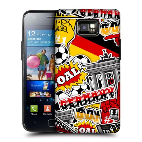 HEAD CASE obal na mobil Samsung Galaxy i9100 S2 mistrovství světa fotbal NĚMECKO
