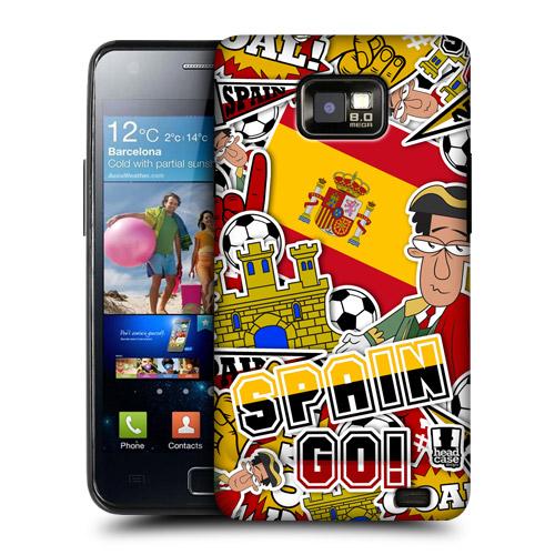 HEAD CASE obal na mobil Samsung Galaxy i9100 S2 mistrovství světa fotbal ŠPANĚLSKO