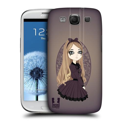HEAD CASE obal na mobil Samsung Galaxy i9300 S3 pevný plast malá Olivie
