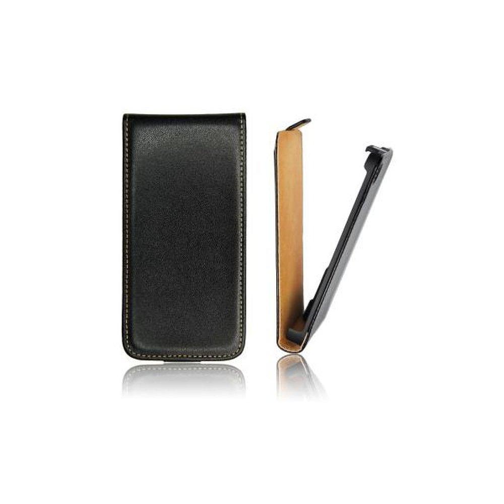 Forcell Obal na mobil HTC windows phone 8S pouzdro flip zobáček černá barva