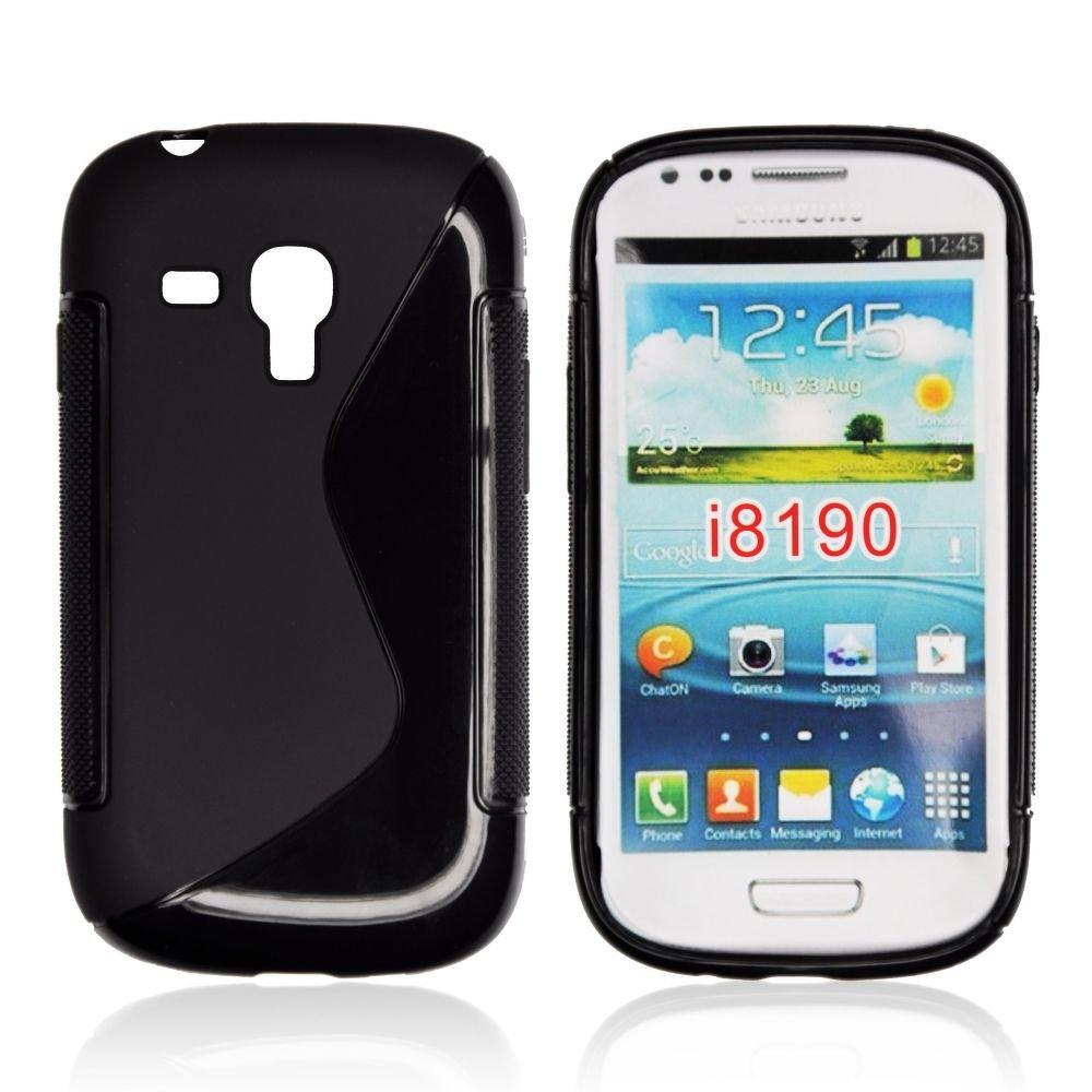 Pouzdro S-line na mobil Samsung galaxy S3 mini černý silikon