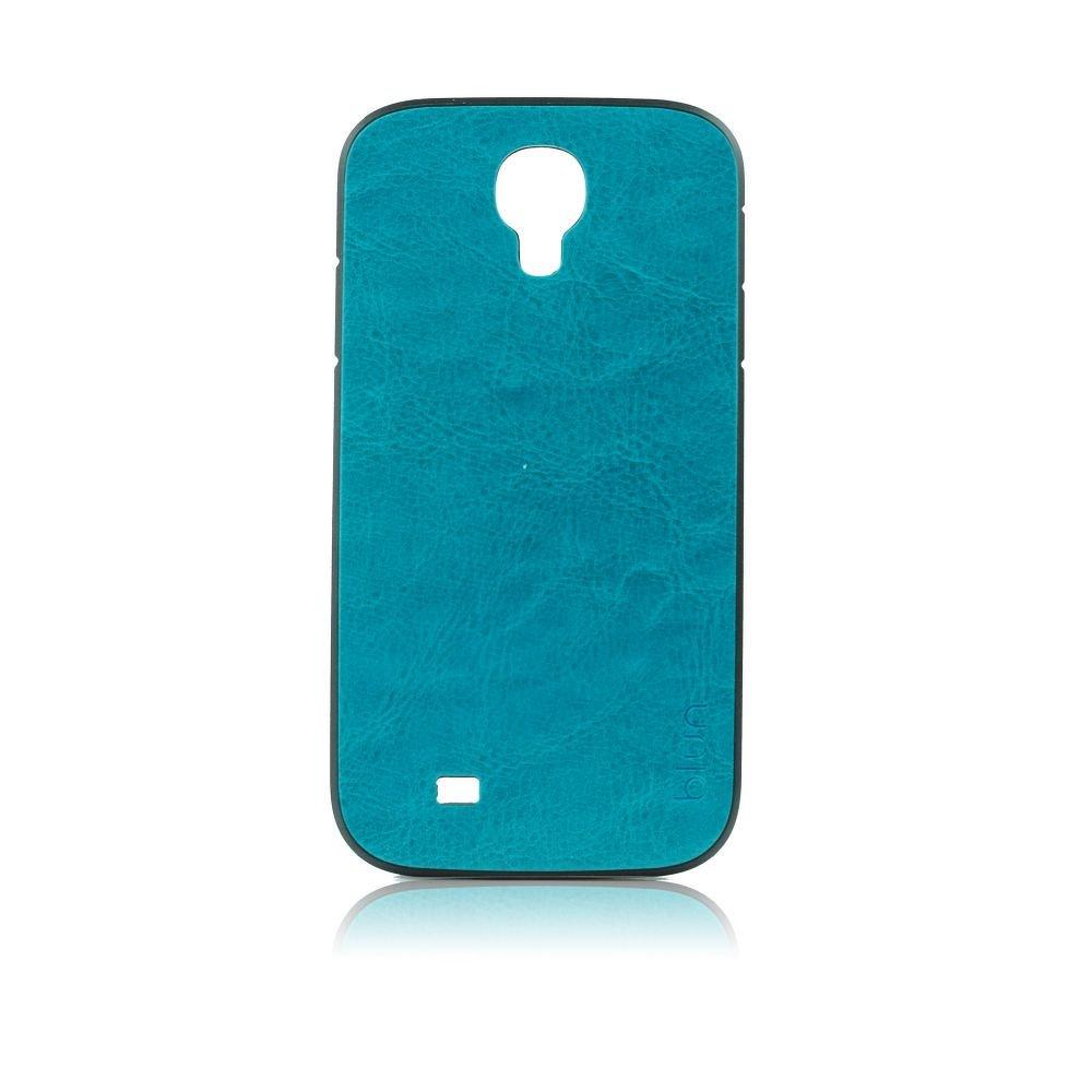 Obal Samsung Galaxy S4 modrá kůže tmavý tyrkys