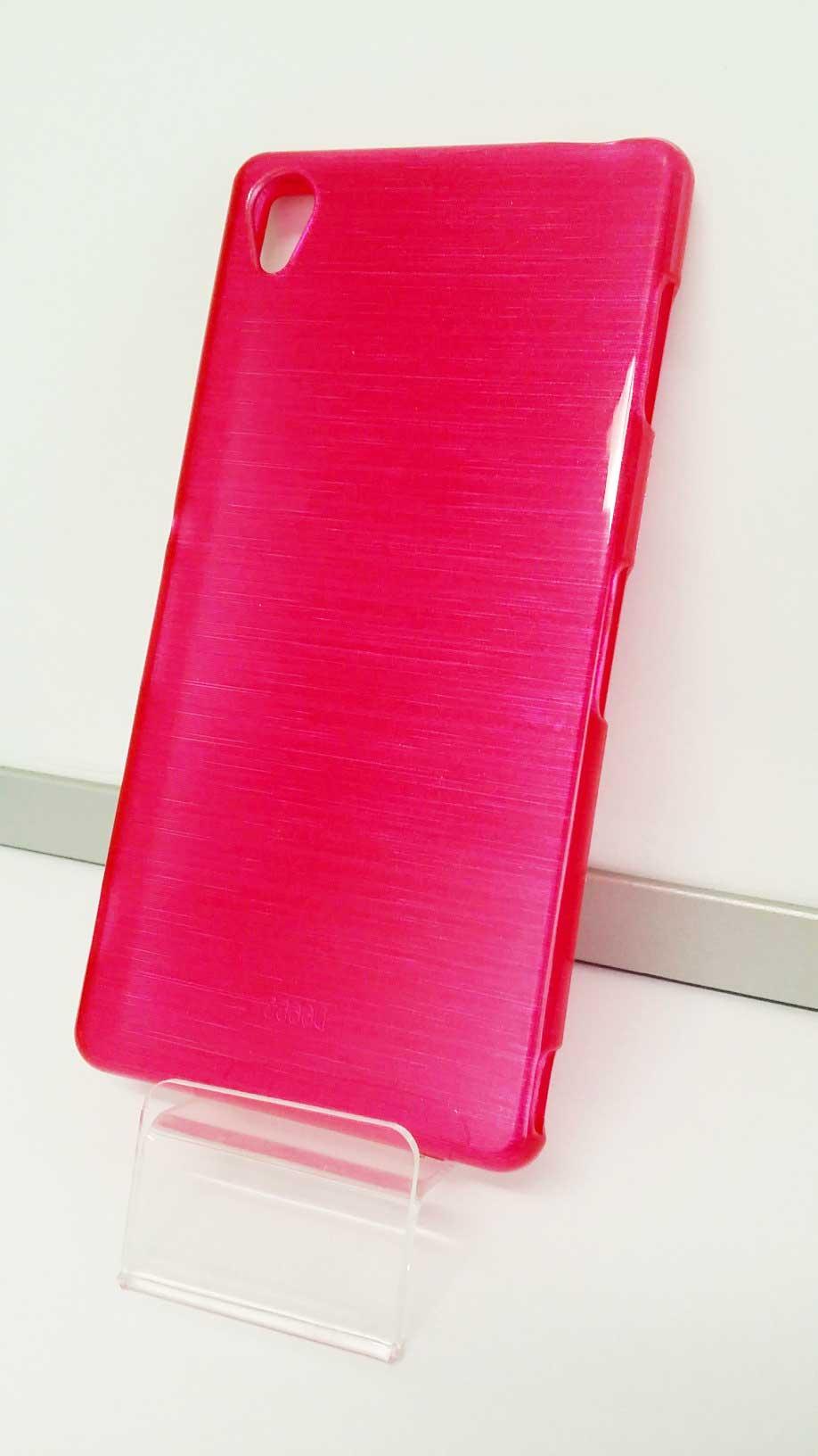 Jelly Case silikonový obal na mobil Sony Xperia Z3 růžový odstín candy