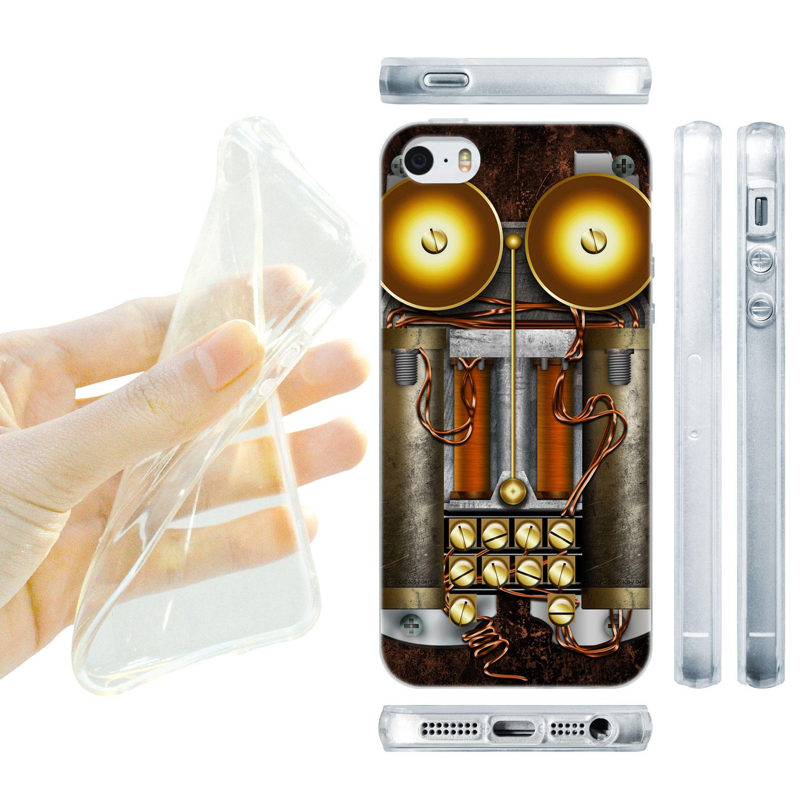 HEAD CASE silikonový obal na mobil Iphone 5/5S Vzor starodávný telefón