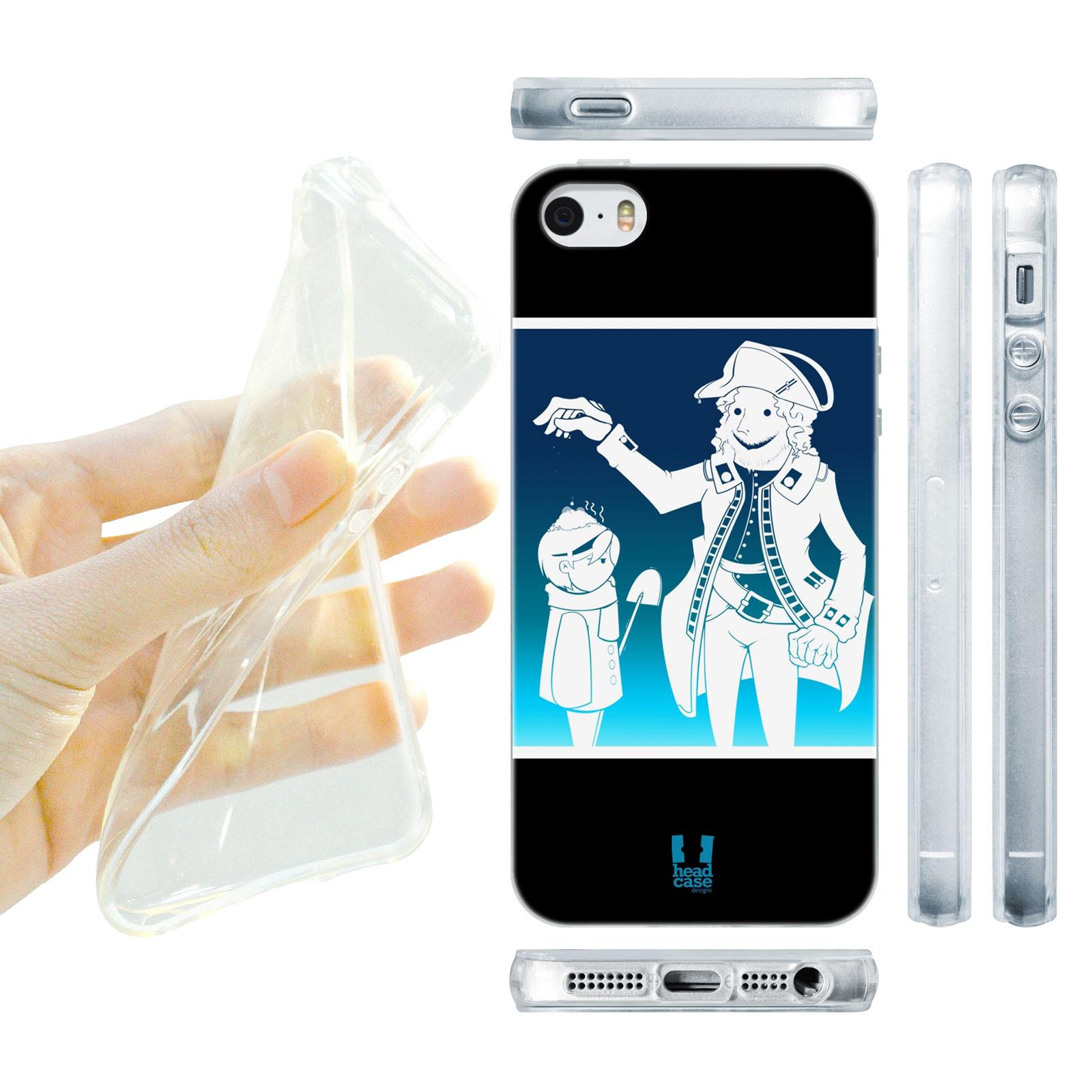 HEAD CASE silikonový obal na mobil Iphone 5/5S Vzor Vánoce Jack Frost