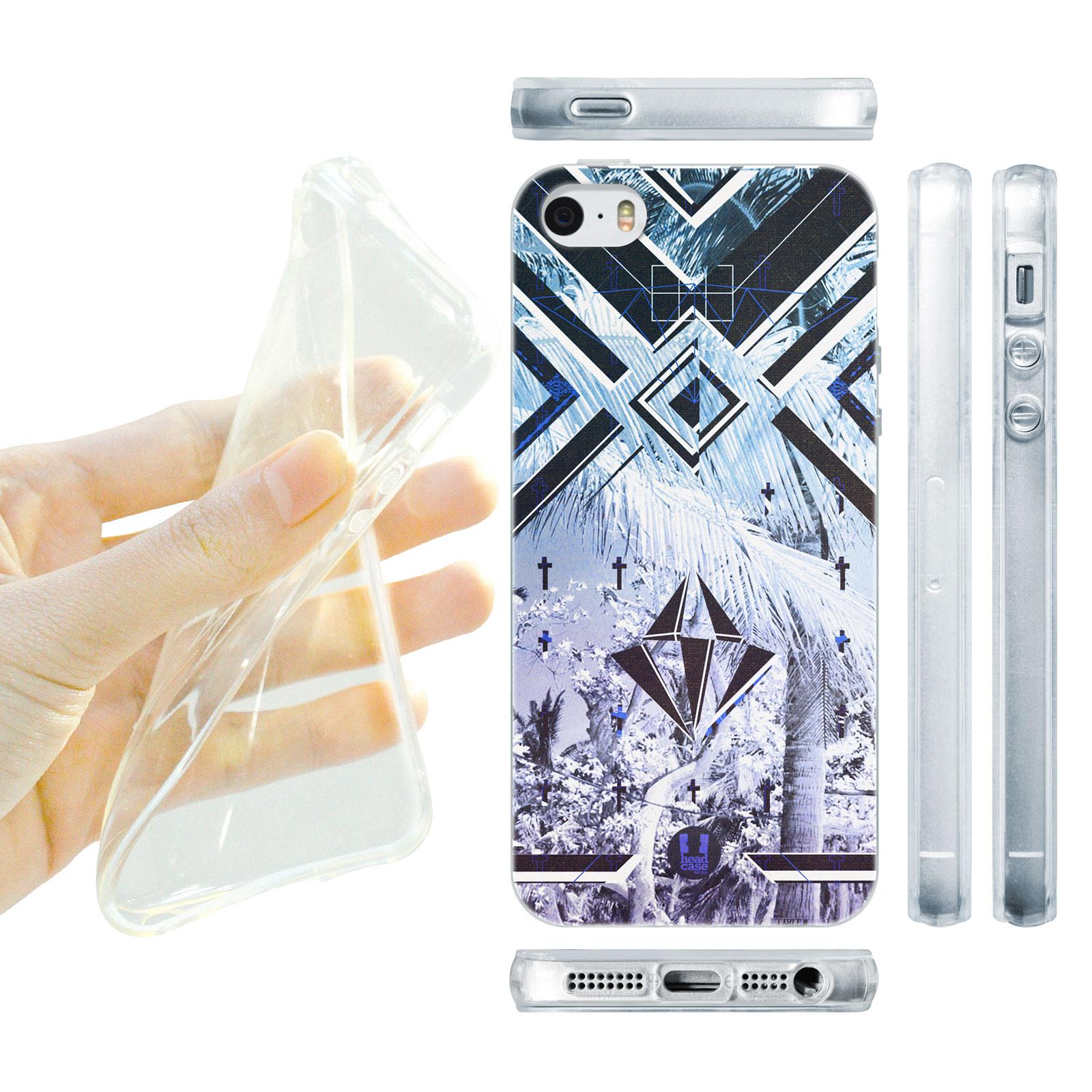 HEAD CASE silikonový obal na mobil Iphone 5/5S Utopia modrá barva