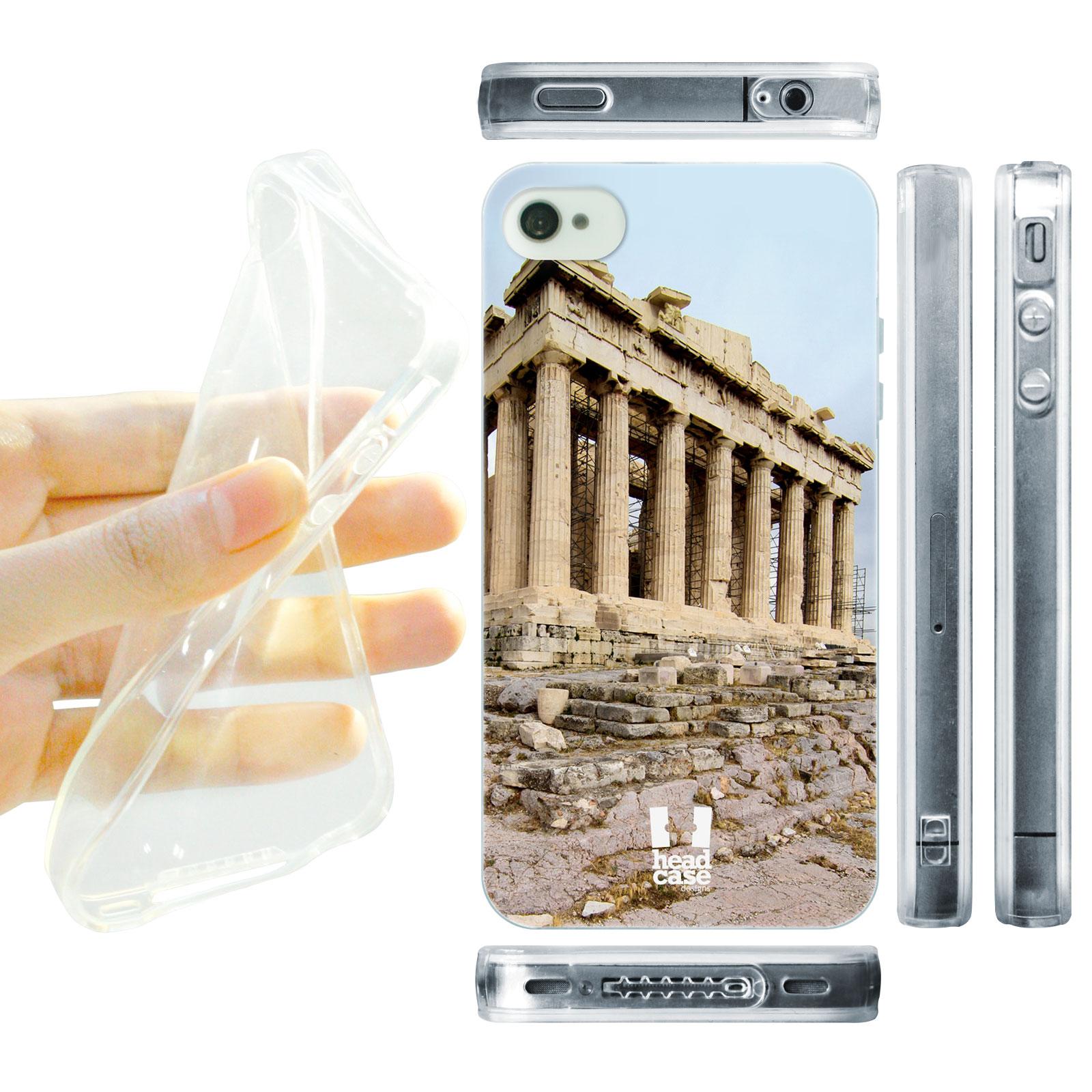 HEAD CASE silikonový obal na mobil Iphone 4/4S foto Parthská stavba