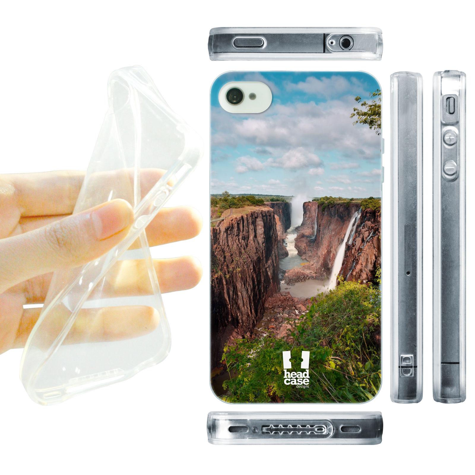 HEAD CASE silikonový obal na mobil Iphone 4 4S foto Viktoriiny vodopády  Afrika 2c81f5638ca