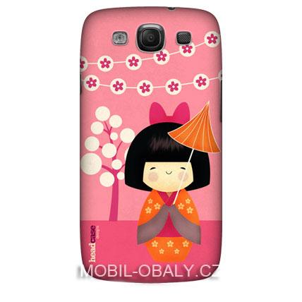 HEAD CASE obal Samsung Galaxy i9300 S3 růžová japanese