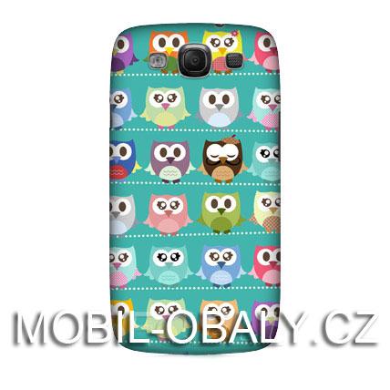 HEAD CASE Samsung Galaxy S3 / S3 NEO pevný plast zvířátko sova