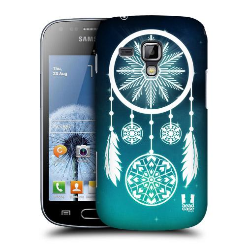 HEAD CASE pouzdro na mobil Samsung Galaxy TREND / S DUOS lapač snů záře modrá