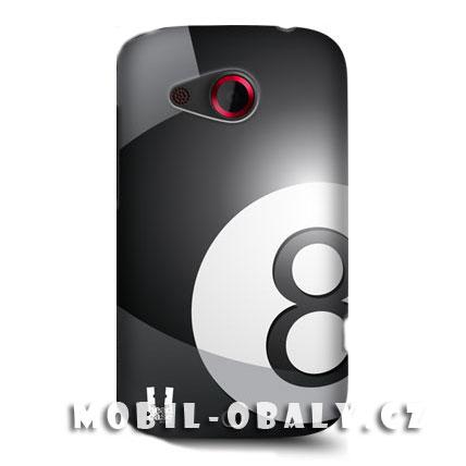 HEAD CASE pouzdro na mobil HTC desire C kulečníková koule černá