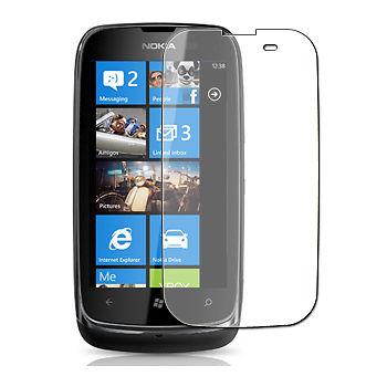 Ochranná fólie na mobilní telefon Nokia Lumia 610 přední displej