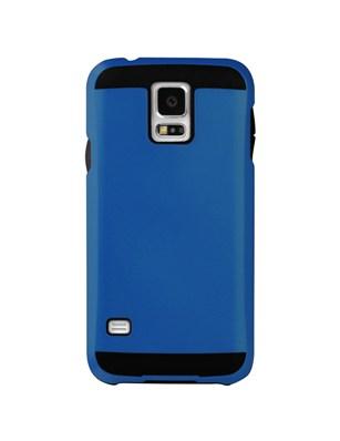 Pouzdro, obal na mobil itSkins Evolution Samsung Galaxy S5 modrý odstín metalíza