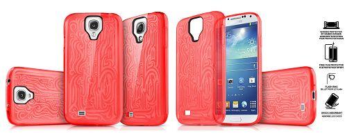 Obal ITSKINS Ink Samsung Galaxy S4 silikonový obal + folie