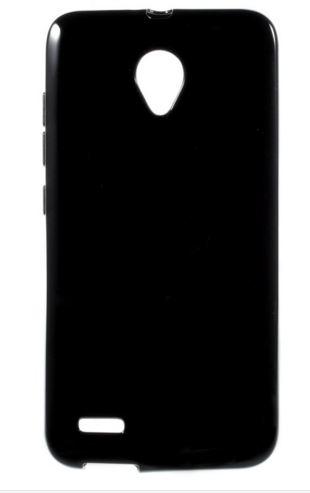 Pouzdro, kryt, obal SES na mobil VODAFONE Smart Prime 6 černá barva silikon