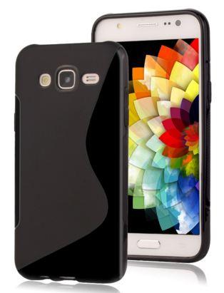 Pouzdro S-line pro Samsung Galaxy J5 (2016) / J510 černý silikon