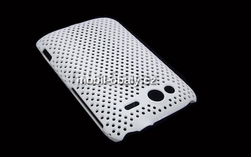 Obal Faceplate Mesh HTC wildfire S pevný bílý plast