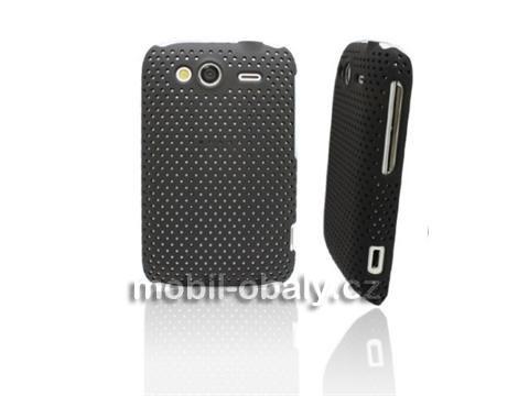 Obal Faceplate Mesh HTC wildfire S pevný černý plast