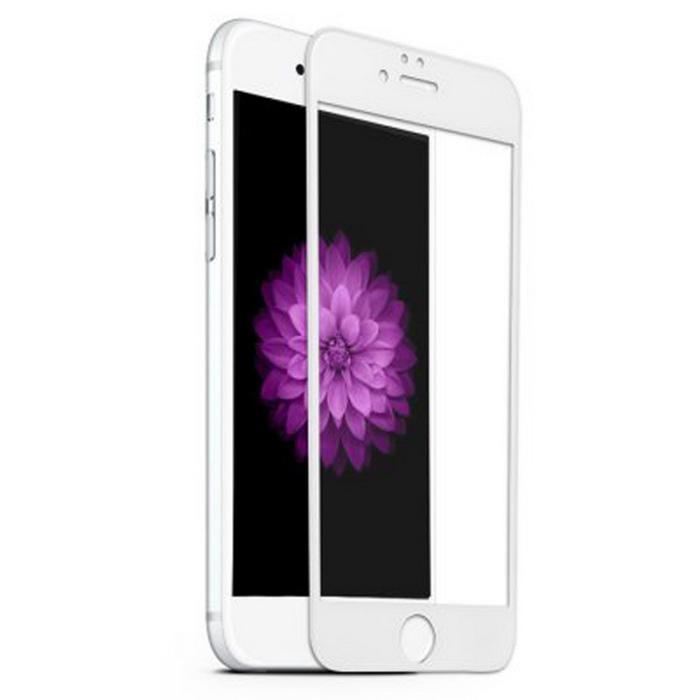 BLUE STAR 3D Tvrzené Sklo pro Apple Iphone 6/6S plné krycí sklo bílé okraje