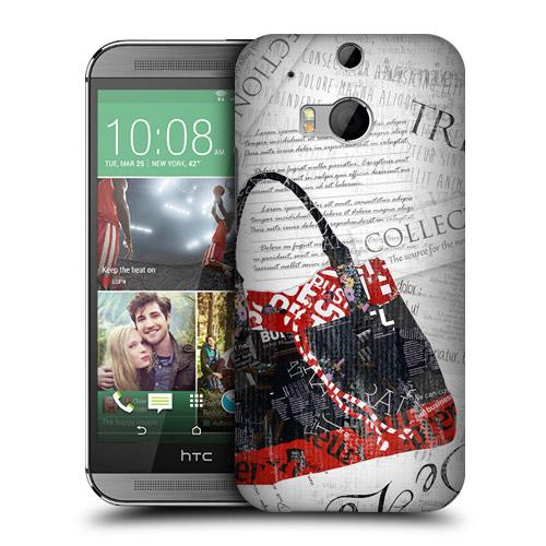 HEAD CASE obal na mobil HTC ONE M8 móda taška kreslený vzor