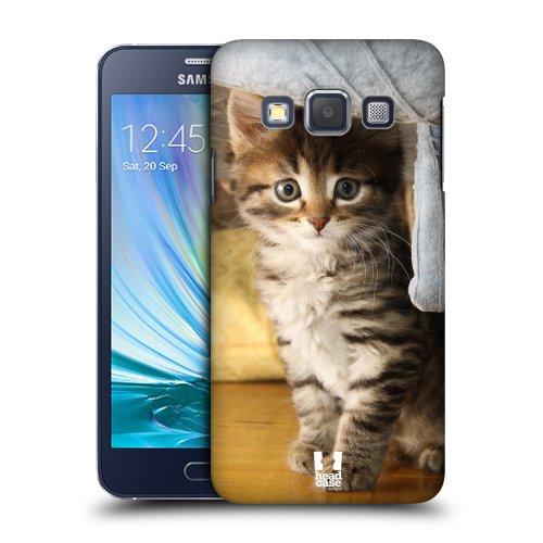 HEAD CASE plastové pouzdro na mobil Samsung Galaxy A3 Foto kočičky kukadla