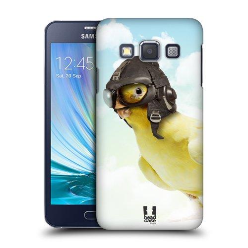 HEAD CASE plastové pouzdro na mobil Samsung Galaxy A3 kapitán ptáček