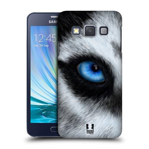 HEAD CASE plastové pouzdro na mobil Samsung Galaxy A3 oko zvířete pes husky