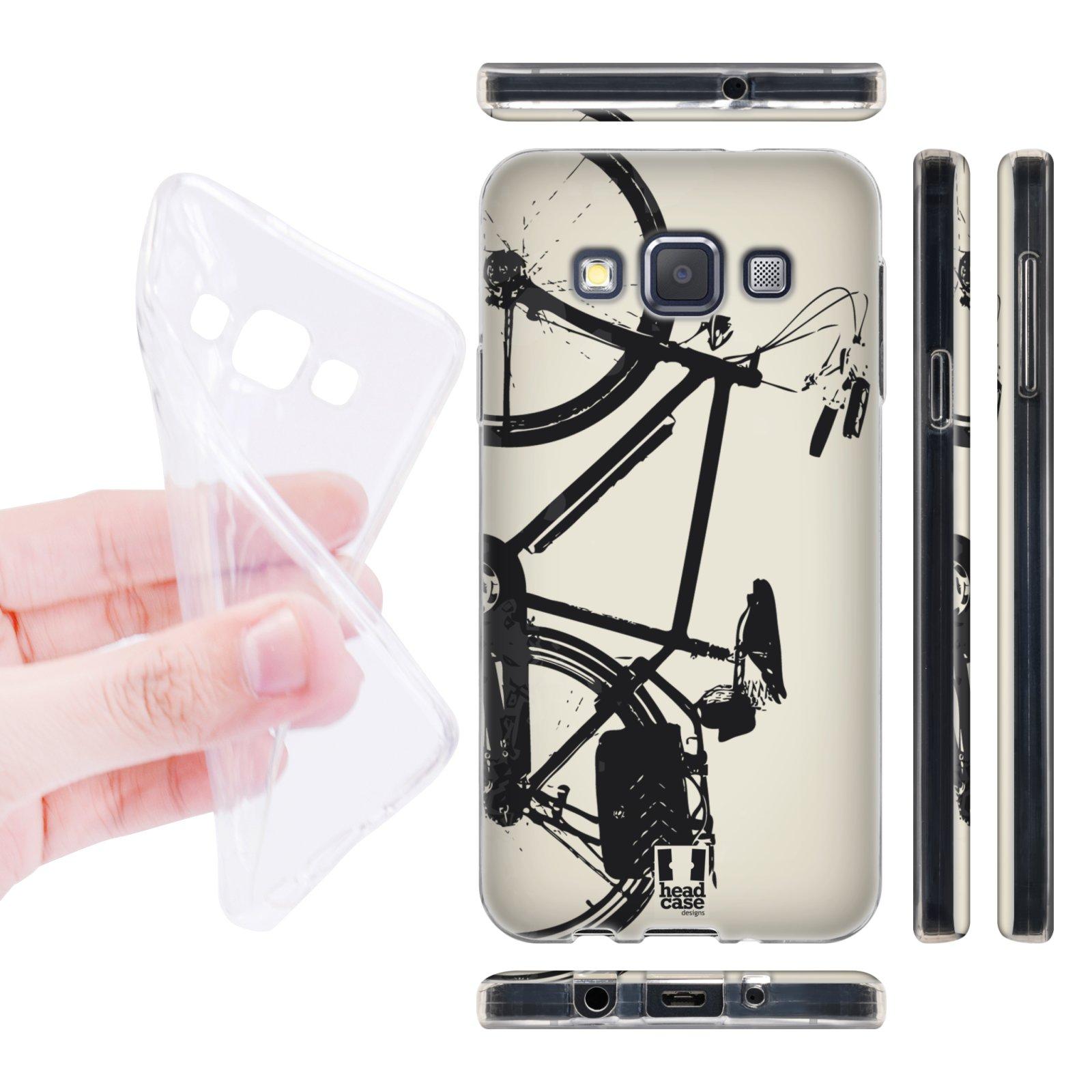 Head Case silikonové pouzdro na mobil Samsung galaxy A3 vzor kolo retro