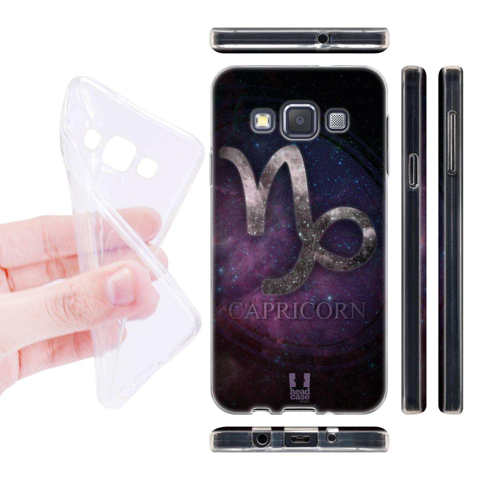 Head Case silikonové pouzdro na mobil Samsung galaxy A3 znamení horoskop Kozoroh