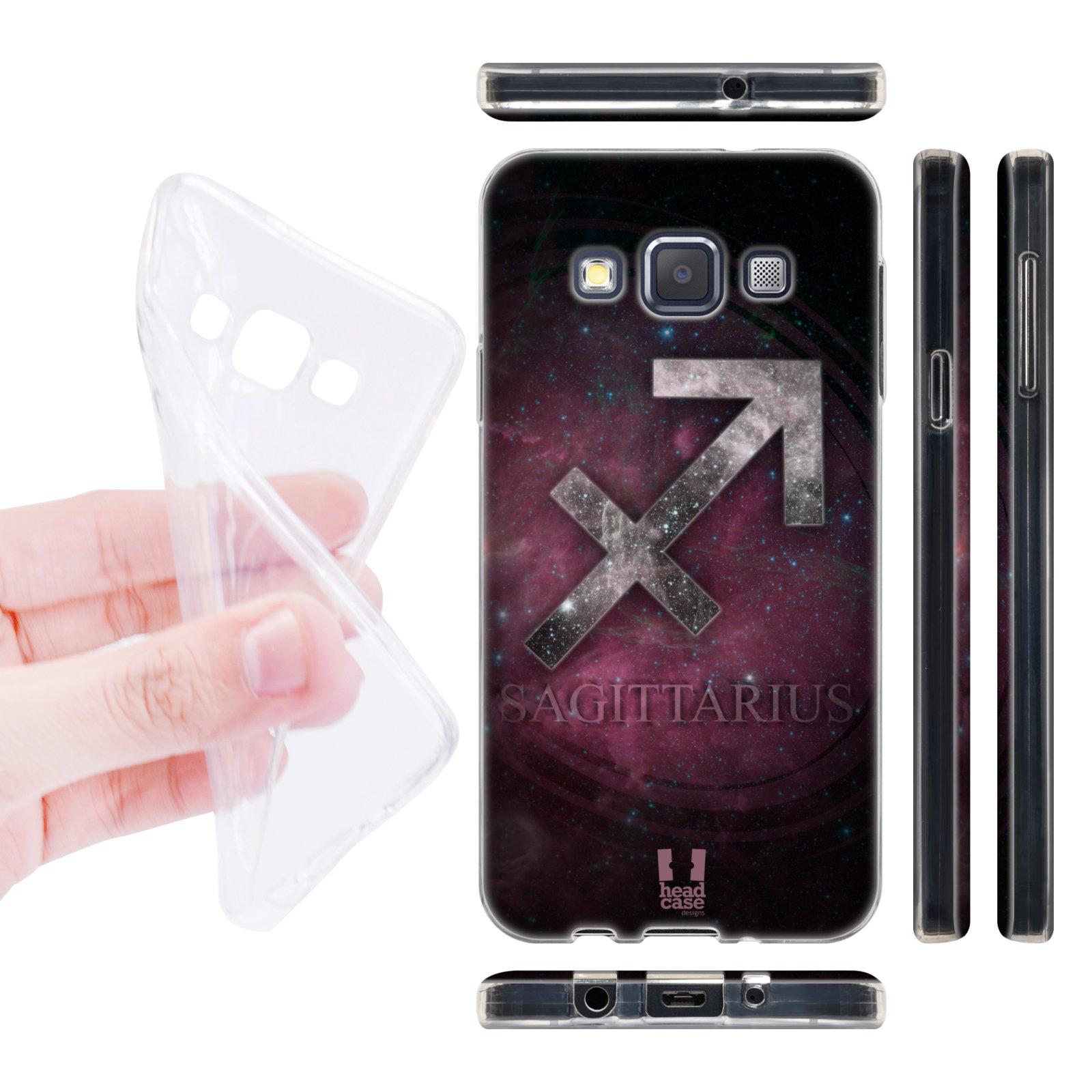 Head Case silikonové pouzdro na mobil Samsung galaxy A3 znamení horoskop Střelec