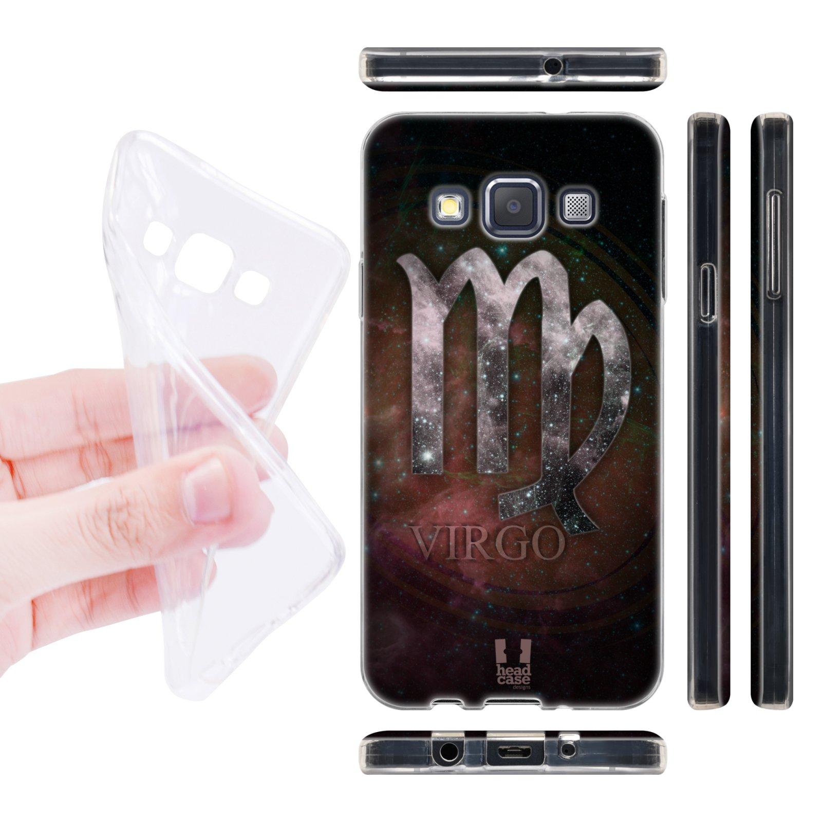 Head Case silikonové pouzdro na mobil Samsung galaxy A3 znamení horoskop Panna
