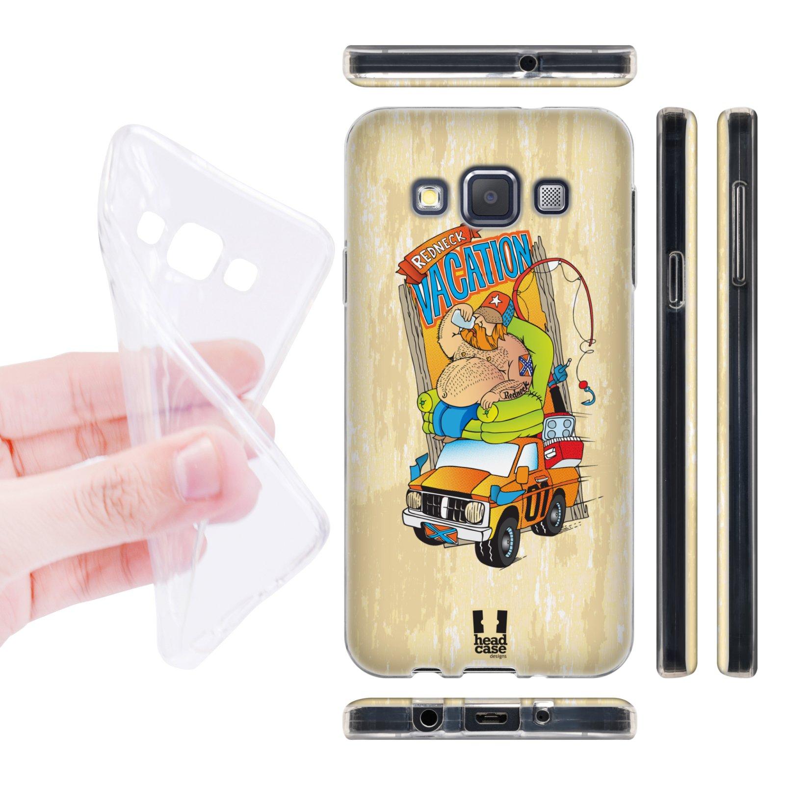 Head Case silikonové pouzdro na mobil Samsung galaxy A3 Venkov dovolená