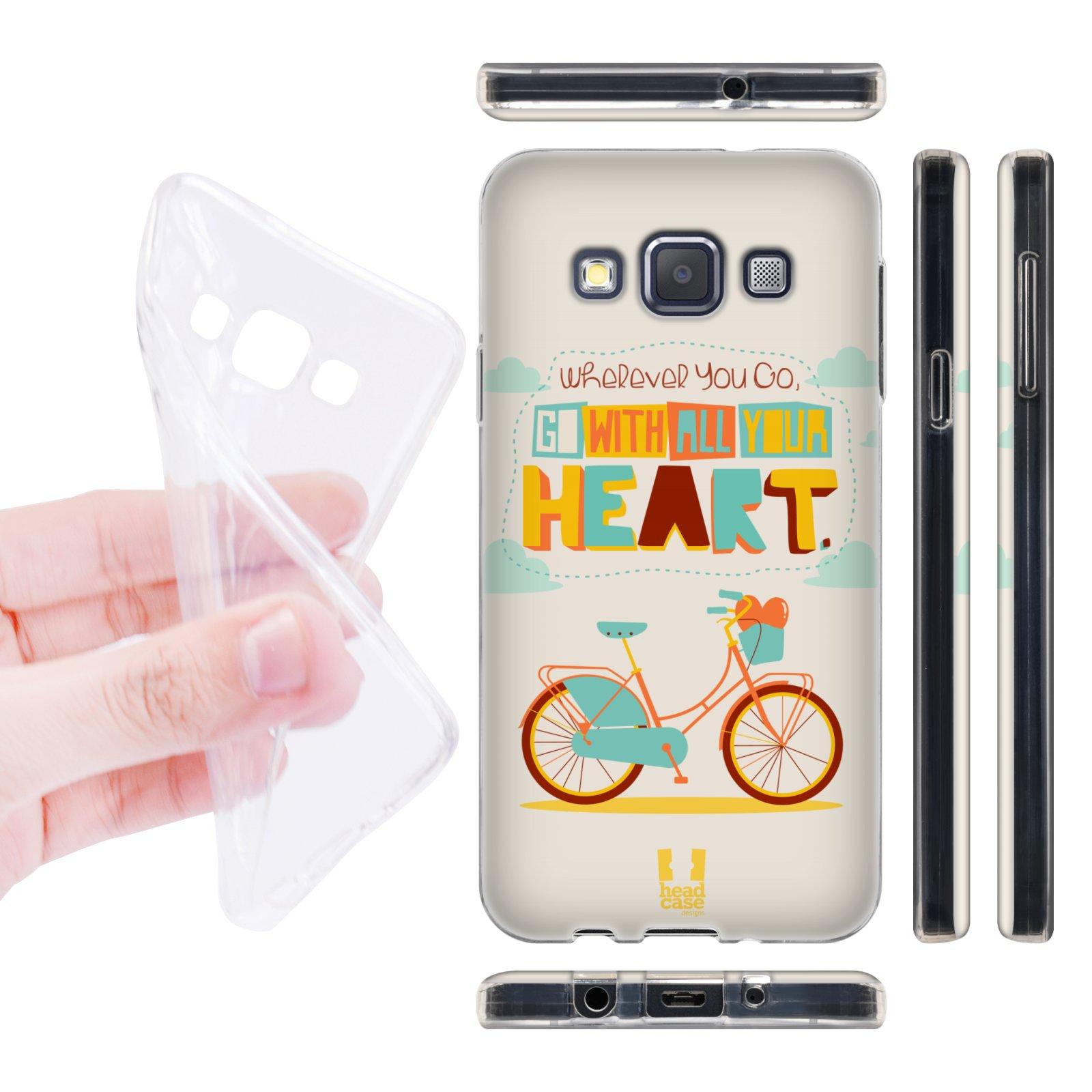 Head Case silikonové pouzdro na mobil Samsung galaxy A3 citáty kolo