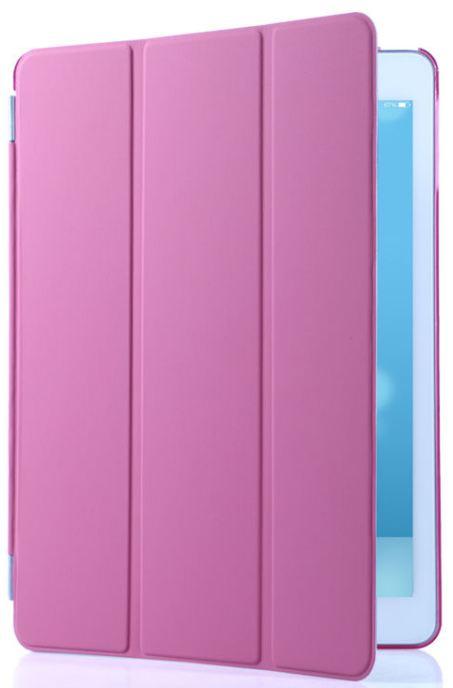 Magnetické pouzdro na tablet Apple iPad 2,3,4 růžová barva+folie zdarma
