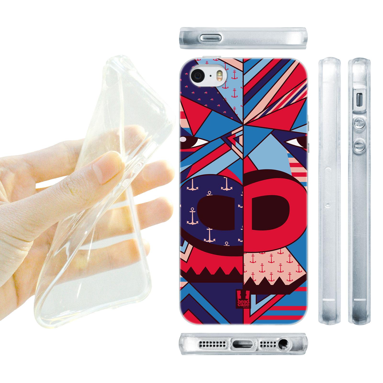 HEAD CASE silikonový obal na mobil Iphone 5/5S zvířata abstraktní gorila