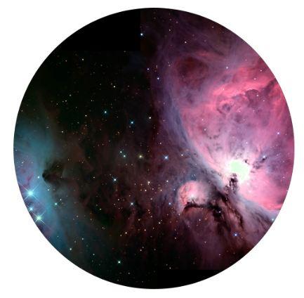 Držák na mobil samonalepovací vesmír